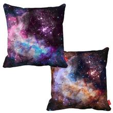 Cosmos Science Fiction Nebula Infinity Galaxy Print Decorative Throw Pillowcase Pillow Case Cushion Cover Sofa Home Decor