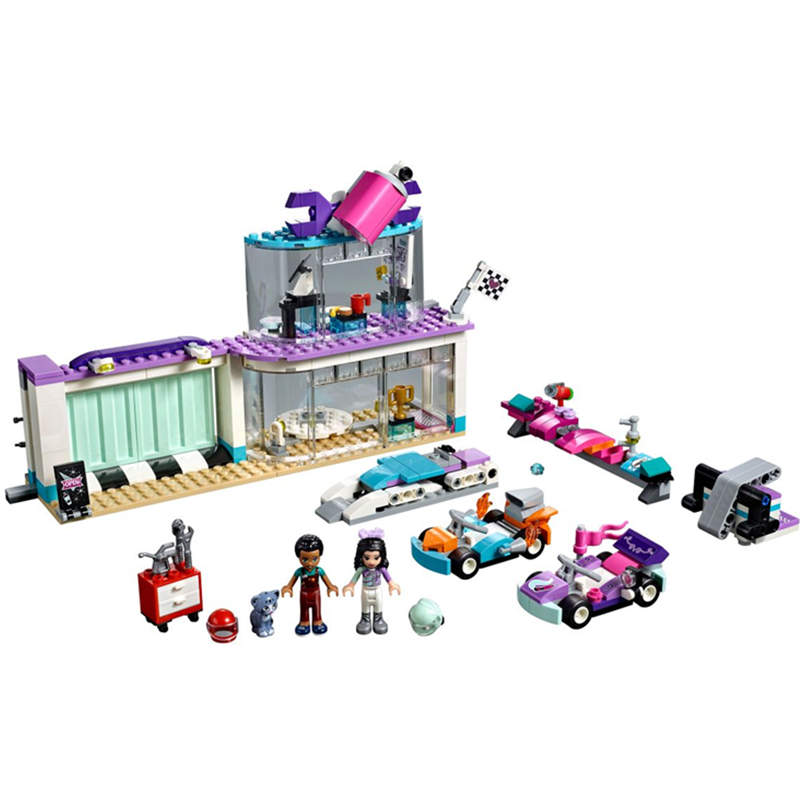 2pcs/Sets NEW Heartlake City Girls Princess Big Race Day Building Blocks Bricks Model Classic Toys Compatible Legoings Friends
