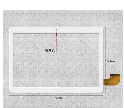 Witblue New For 10.1 TeClast P10 Tablet Capacitive touch screen panel Digitizer Glass Sensor replacement Free Shipping new capacitive touch screen digitizer for 7 4good light at200 tablet touch panel glass sensor replacement free shipping