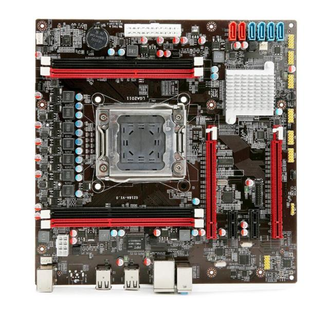 Новый рабочего материнская плата X79 материнская плата LGA 2011 контактный mainboard бесплатная доставка