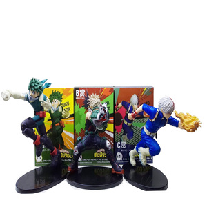 Image 4 - Tronzo שלי גיבור אקדמיה פעולה איור Boku לא גיבור אקדמיה Midoriya Izuku Bakugou Katsuki Todoroki Shoto PVC דגם בובת צעצועים