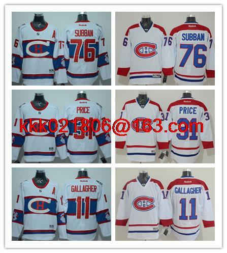 6243e7c1e ... Hockey Jerseys White High Quality Montreal Canadiens New Arrival Black 31  Carey Price 67 Max Pacioretty 76 PK Subban 11 Gagher ...