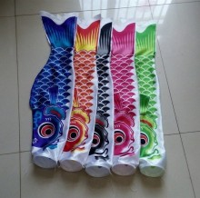 Wholesale Carp fish flag carp carousingly koinobori Windsock 50 cm 5 colors + Tassel Free shipping