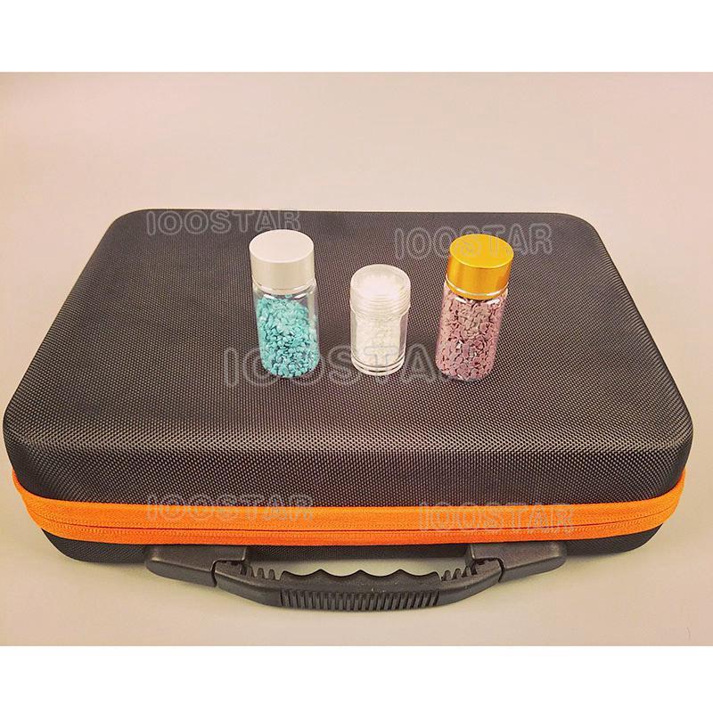 60 бутылок коробка для алмазной живописи контейнер для инструментов Коробка Для Хранения Чехол Держатель ручная сумка на молнии бутылки