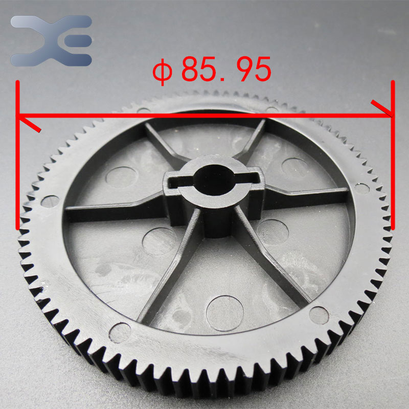 Meat Grinder Parts Gear Plastic Gear Teeth 84 Gear Diameter 25.95mm Bore Diameter 9.8mm New Unused Free Shipping microwave oven accessories plastic parts diameter 34 3mm length 29 3mm new unused free shipping