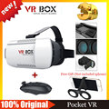 VR BOX Version VR Goggles Virtual Reality Glasses Google Cardboard 3D Glasses + Bluetooth Mouse / Remote Game Controller