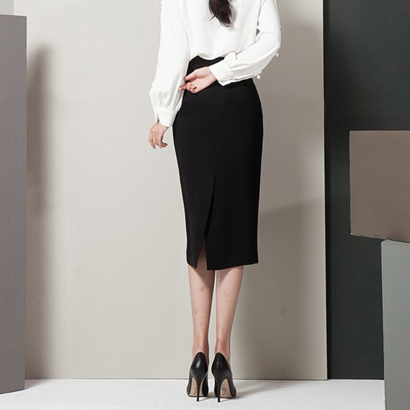 Gratis S Cintura Lápiz Otoño 2xl Negro Y Envío Faldas Formal Primavera 2018 Nuevo Mujeres Elegante Alta Damas Con Arco Las De S7TdZq
