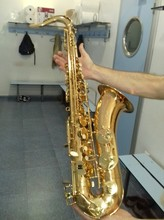 French Copy Selmer 54 B Flat Tenor Saxophone Gold Lacquer Sax Brass Professional Performance With Case,Gloves Series Bb STS-54