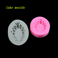 82*67*15mm gem pearl jewelry shape silicone mold fondant cake chocolate decoration mould baking tools DIY craft mold