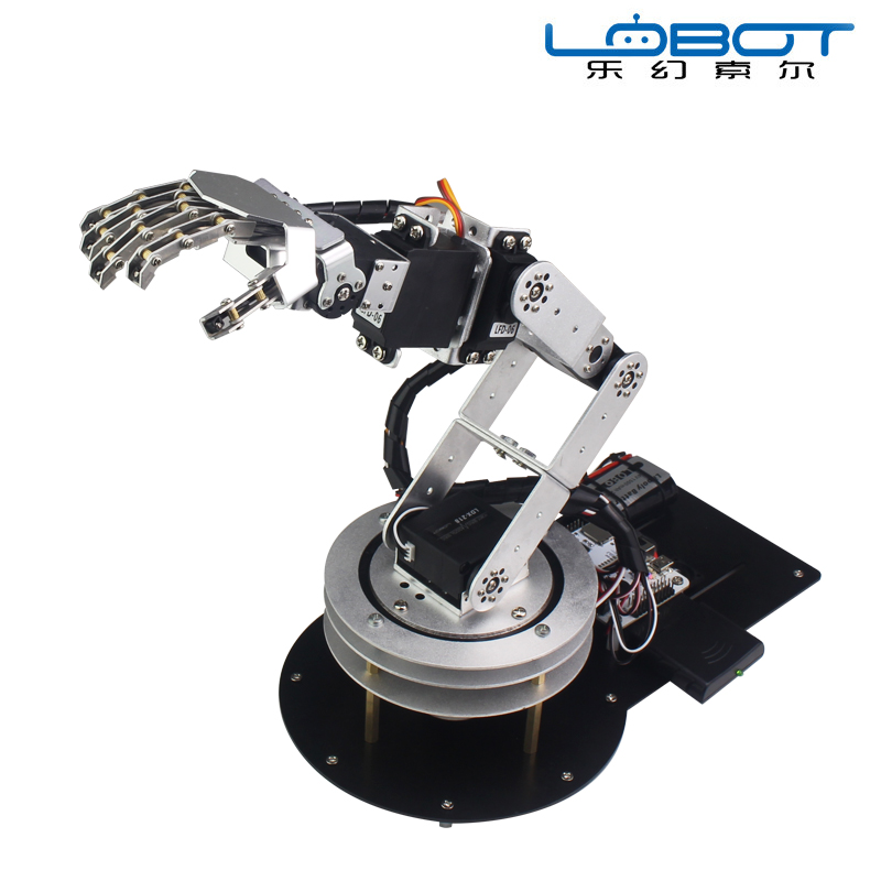 6 Degree of Freedom Robot Arm Bionic Robot Arm MP3 Player Robot Kit робоконструктор ultimate robot kit makeblock