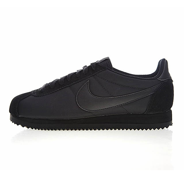 US $93.62 49% OFF|Nike Classic Cortez Women's Running Shoes, BlackBeige, Balance Lightweight Support Sport Sneakers Shoes 807472 007 749864 801 in