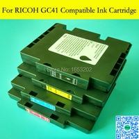 1 Set GC41 מחסניות דיו סובלימציה Ricoh GC 41 עם מלא ידיות SG800 SG400NA/איחוד אירופי SG800NA/איחוד אירופי מחסנית דיו סובלימציה