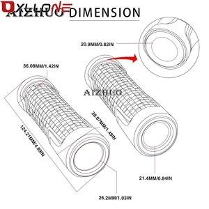 """Image 5 - Zubehör Aluminium Universal 7/8 """"22mm Motorrad Roller Moto Griff Bar Griffe Hand Bar grip Für KTM RC390 RC 390 2014 2018"""