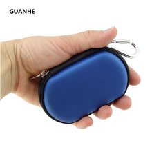 GUANHE Small Pouch Cable Tidy Earphone Case Cable Organiser Accessories USB Flash Drive Carry GPS Storage Case(China)