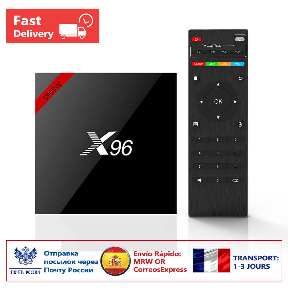 8ad0b86c50139 (Доставка из Москвы) Новинка! Оригинальный X96 Android 7.1 Smart TV BOX  Смарт ТВ