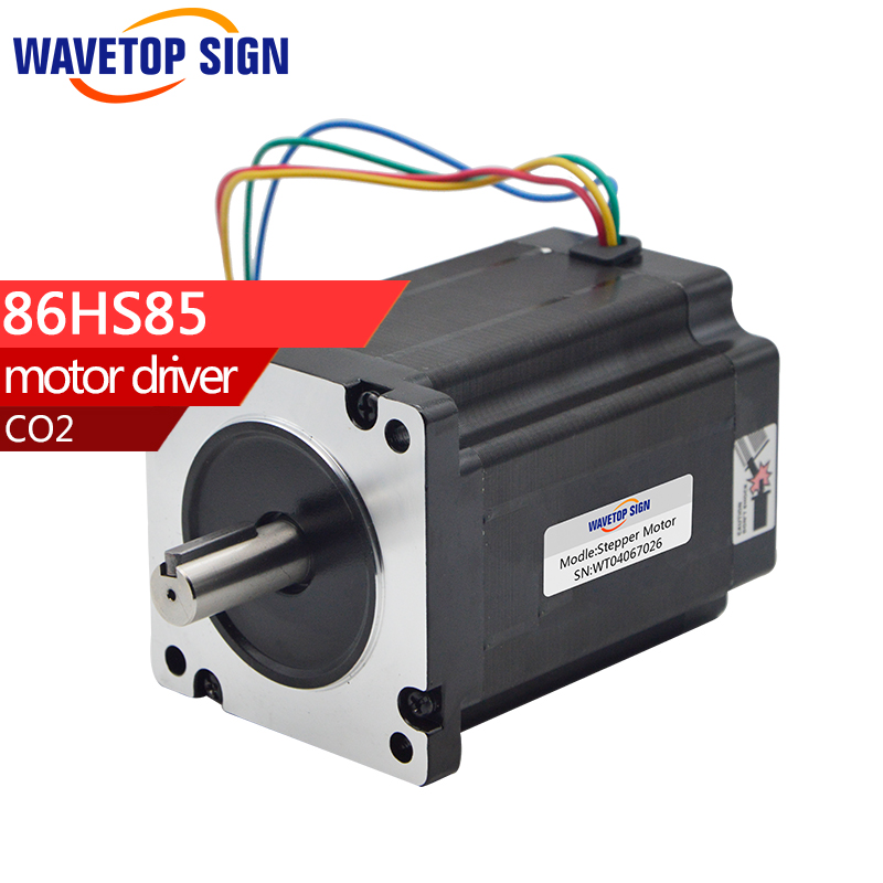 Leadshine 2phase Stepper Motor 86HS85 2phase Step Motor Laser Engraving Machine cnc Router leadshine 3 phase stepper motor 863s68h 3phase step motor laser engraver machine cnc router