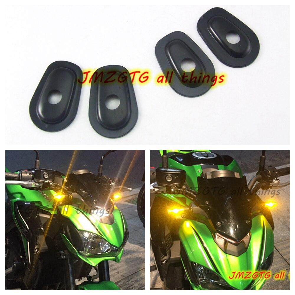 Motorrad refit Blinker Anzeige Adapter Spacer Für KAWASAKI Z250 Z300 Z650 Z750 Z800 Z900 Z1000 Z1000SX Z750S Z250SL
