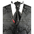 free shipping top fashion gentlemen's waistcoat 4piece