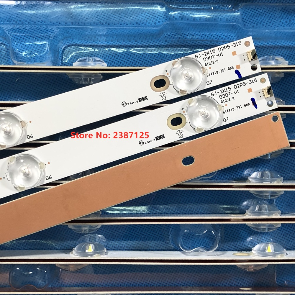 3pcs LED Backlight Lamp Strip For LBM320P0701-FC-2 32PFK4309 32PHS5301 TPT315B5 32PFK4309 LB-F3528-GJX320307-H T3250M 315LM00002