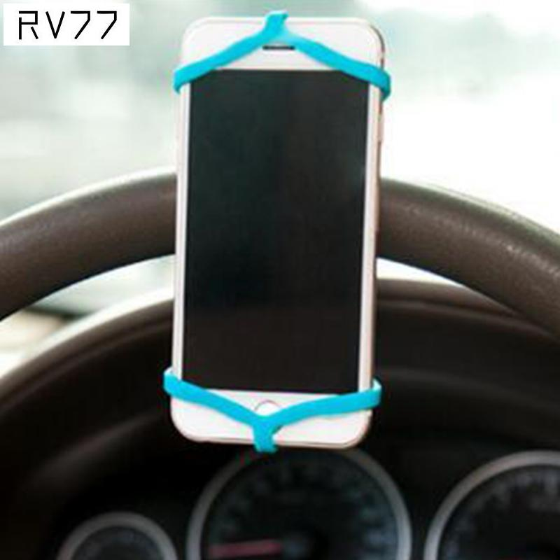 Universal Phones Holder Camera Holder Silicone Rubber Elastic Security Band Cellphone Accessories Wholesale