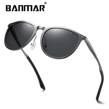 BANMAR Aluminum Magnesium Men's Sunglasses Polarized Coating Mirror Sun Glasses Oculos Male Eyewear Accessories For Men Goggle aluminum magnesium polarized sunglasses men sports sun glasses night driving mirror male eyewear accessories goggle oculos