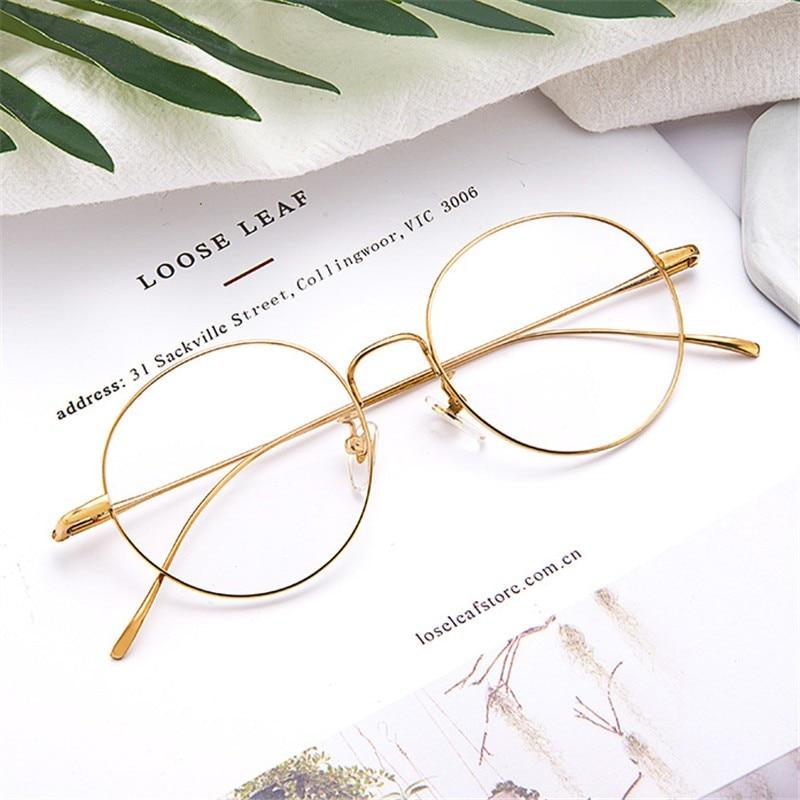 bf7707a92 وصفة طبية نظارات ، عدسة تحتاج شراء إضافية: High-Quality-Men -Wmen-Frames-Pure-Titanium-Full-