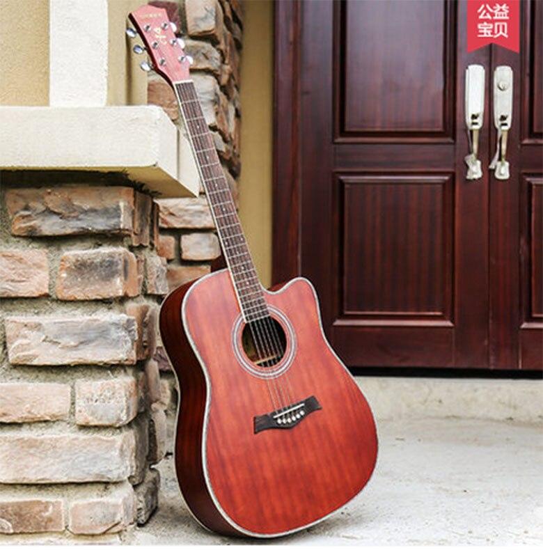 Andrew 40 pouce 41 pouce acoustique guitare débutant entrée étudiant mâle et femelle instrument