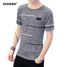 NEEDBO Fashion Men Tshirt Big Size Streetwear Casual T Shirt 8xl Camisetas Hombre Mens Shirts for Plus Sizes Tees