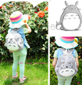 Kawaii Totoro Backpack , 26*22CM Fits 2-5 Year Old Kids TOTORO Plush Children Baby Kindergarten Backpack Shoulder BAG Pouch