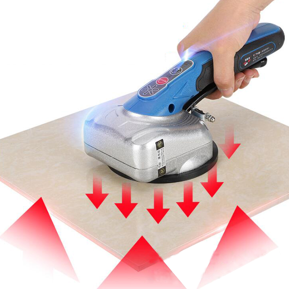 Cordless Hand-held Ceramic Tile Wall Brick Lithium Electric Smart Tile Tiler Vibrator Tile Automatic Leveling Installing Machine ramsey tile floors – installing maintaining and repairing paper only