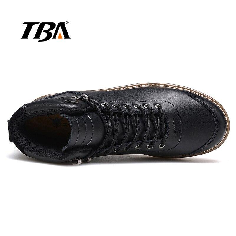 Tba baru hiking sepatu pria jatuh dan musim dingin berjalan tahan air sepatu  kulit mendaki perjalanan 1fe7170369