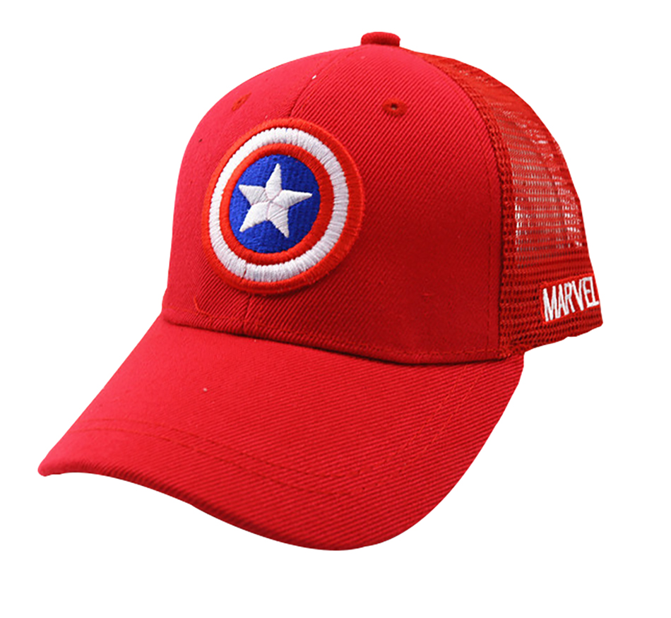 HTB1TcTQbEGF3KVjSZFoq6zmpFXaT - 3-10 Yrs Children Hats Superman Baseball Cap Captain America Baby Hip Hop Hats Summer Fashion Boy Snapback Boys Hip Hop Kids Hat