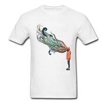 e8f01cb977f6 Octopus In Me O Neck T-Shirt Mens Novelty Tops Tees The Black Friday Ahegao