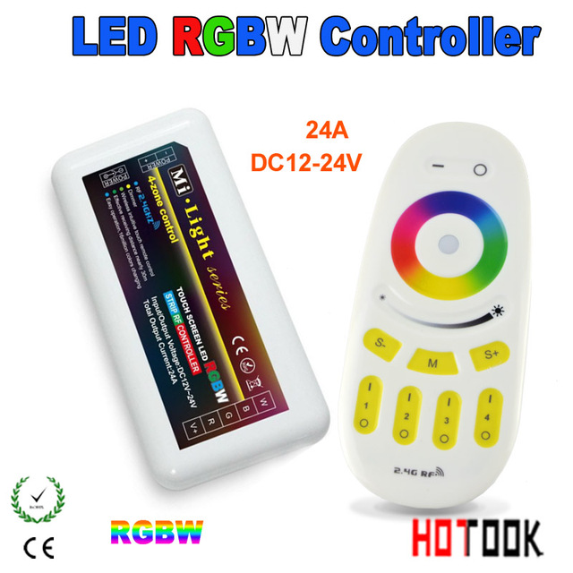 Free shipping Mi. light series 4 zone led controller box RGBW 12 ...