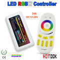 Frete grátis Mi. série luz 4-zone RGBW levou caixa de controlador de 12 ~ 24 V 24A 2.4G controle de Painel de Toque LEVOU Controlador para lâmpada led