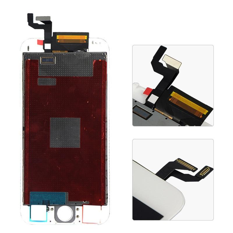 imágenes para No Dead Pixel 4.7 pulgadas Para Apple iPhone 6 S LCD pantalla con pantalla Táctil digitalizador Asamblea Blanco y Negro Libre gratis