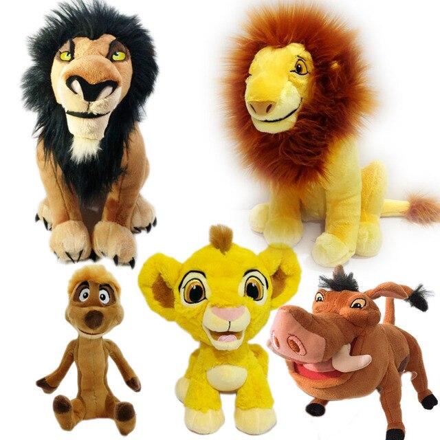 Cicatriz Simba Timon Pumbaa juguete de peluche lindo León rey peluche animales niños juguetes regalos