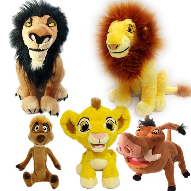 Scar Simba Timon Pumbaa Plush Toy Cute Lion King Stuffed Animals