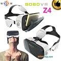 Luxo Óculos de Realidade Virtual VR BOBO Z4/BOBO VR Z4 mini caixa de óculos 3d google papelão vr fone de ouvido para 4.0-6.0 'smartphone