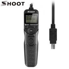 Снимать MC-DC2 Таймер Пульт дистанционного спуска затвора Управление для Nikon D90 D600 D610 3100 D3200 D3300 D5000 D5100 D5200 D5300 цифровых зеркальных камер