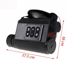 500m laser rangefinder 200m night vision view Mutifuctional 6X32 Night Visions Infrared IR Monocular Scope Scout Laser Ranger