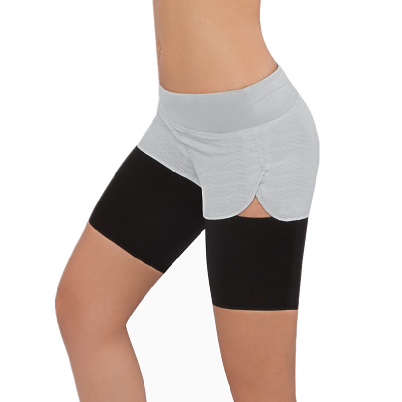 dcfa088003a36 New Women Slimming Women s Thigh Trimmer Compression Leg Sleeves Hot Body  Shaper Plus Size Thigh Slimming Sauna Sleeve Shapewear