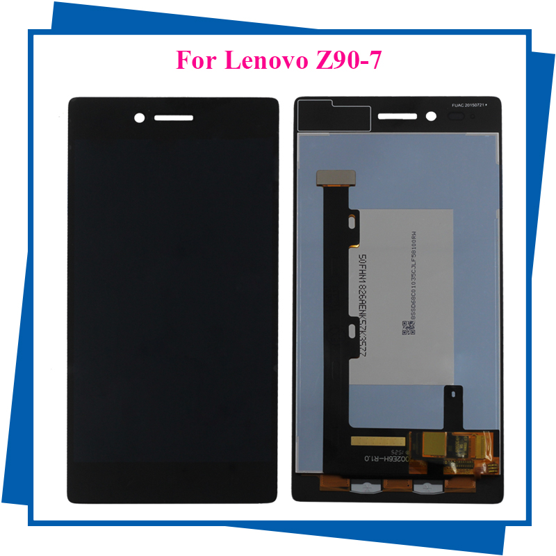 For Lenovo VIBE Shot MAX Z90 Z90A40 Z90-7 Z90-3 Z90-A Z90A LCD Display Touch Screen Panel Assembly Mobile Phone Accessories vibe x2 lcd display touch screen panel with frame digitizer accessories for lenovo vibe x2 smartphone white free shipping track