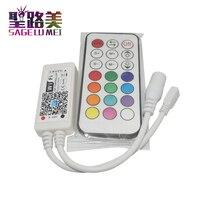 Mini RGB RGBW RGBWW RGBCW Wi-fi LEVOU Controlador RF Remoto Para Fita Fita Flexível Luzes IOS/Android Telefone Inteligente Controle sem fio