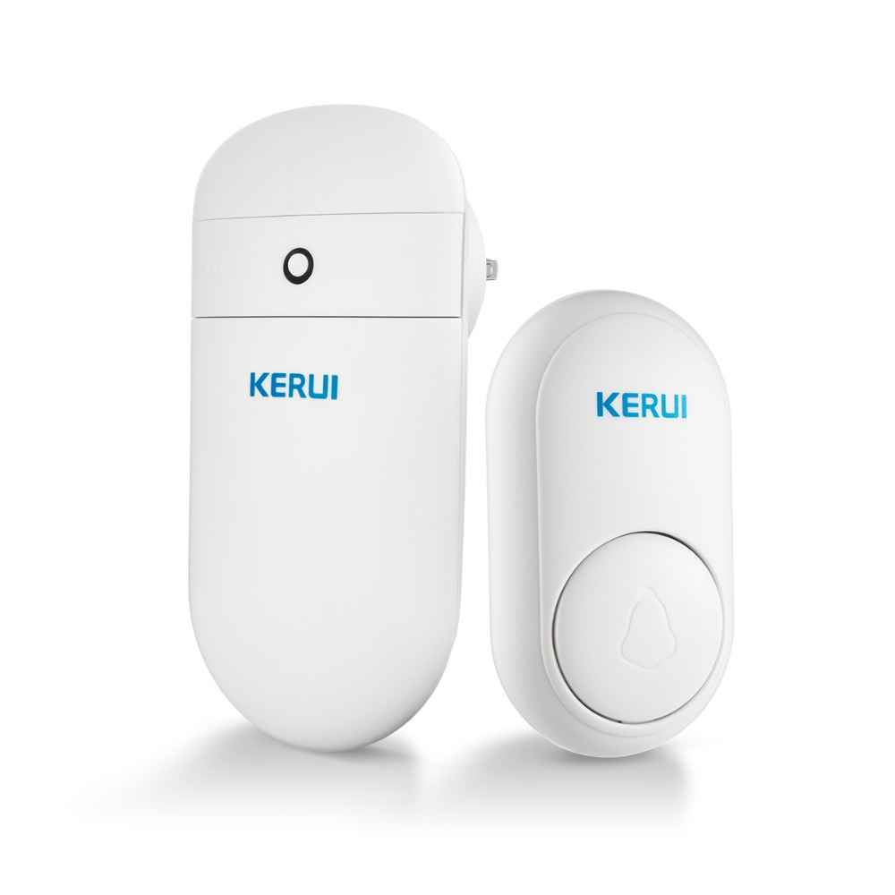 KERUI M518 Self-powered Anello Campanello Senza Fili A Lunga Distanza 52 Disponibile Toni Casa Intelligente Senza Fili Campana nessuna Batteria di Bisogno