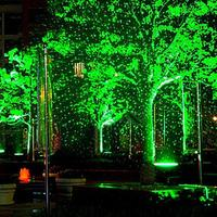 Laser Stage Light Outdoor Landscape Garden Laser Light Starry Sky Pattern Waterproof Remote Control Stage Lamp for Xmas Decor