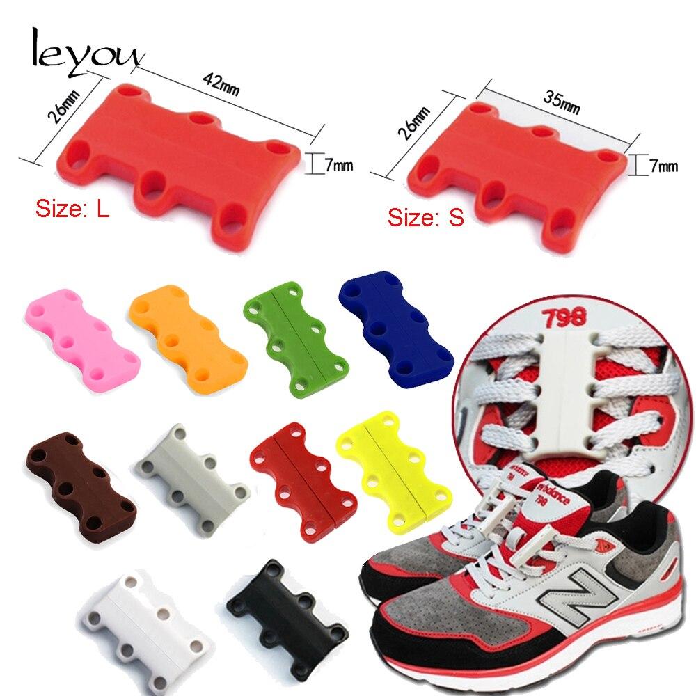 74962be7b2b Hebilla de Leyou sin cordones de zapatos magnéticos con cordones de zapatos  para niños y adultos Cierre magnético