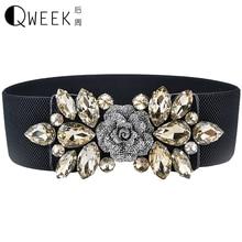 rhinestone crystal wedding women elastic belt ceinture strass boda ceintures pour femmes cintos femininos woman belts for dress