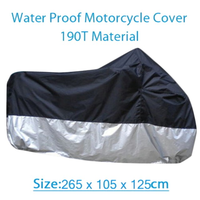 Motorcycle Cover Waterproof Outdoor UV Protector Covering Bike Covers for Motorcycle Motor Scooter Capa Para Moto Bike Cover