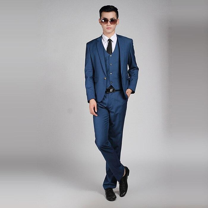 Aliexpress.com : Buy Men Fashion SIngle Button Formal Suits Work ...